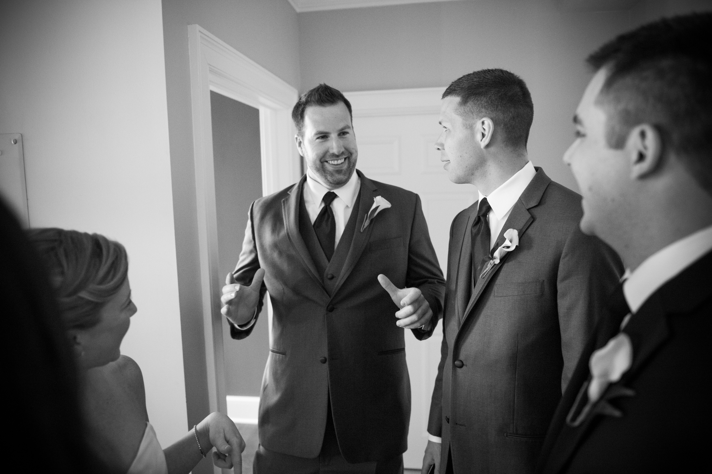 These guys are maybe the funniest groomsmen I've ever met, however their little wedding day prank on me was NOT funny - well not at the time! haha