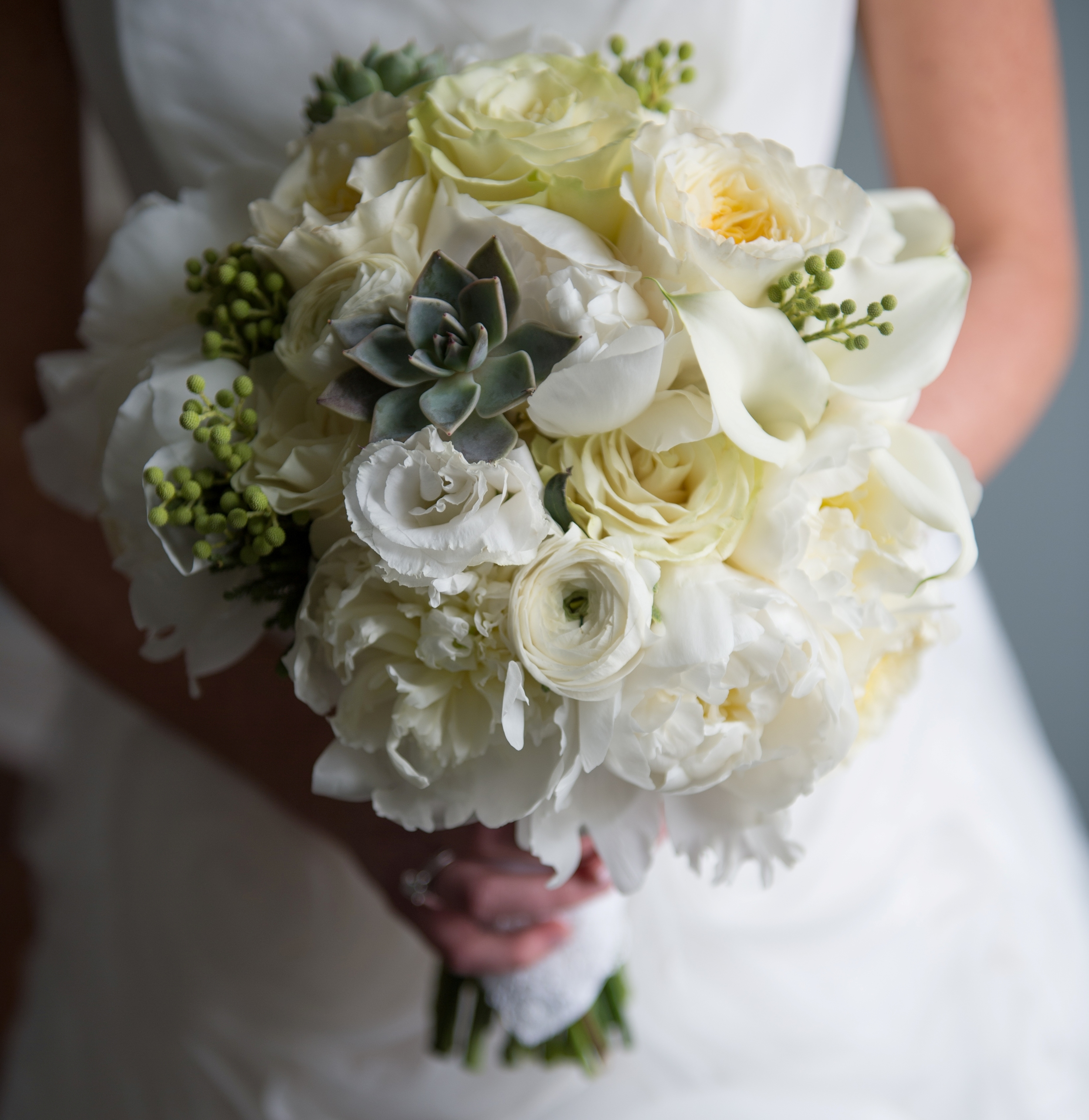 The most amazing bouquet ever from Fleurescent . SO SO incredible.