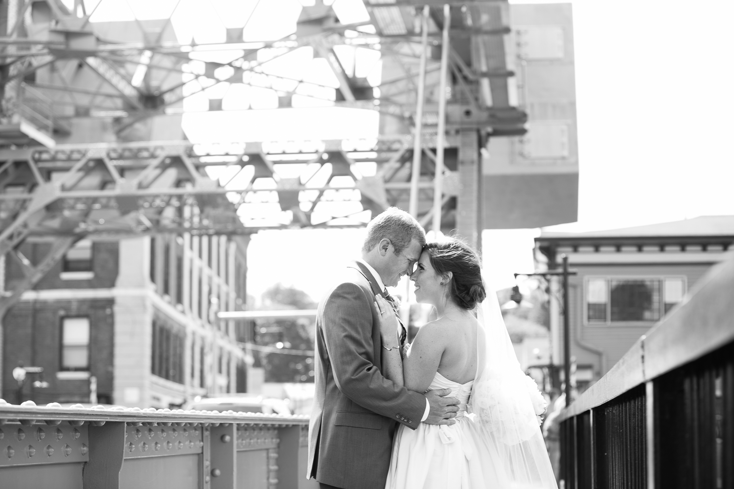 Obsessed with this picture. Gorgeous Bride and Groom with my love for bridges and architecture? Yes, please.