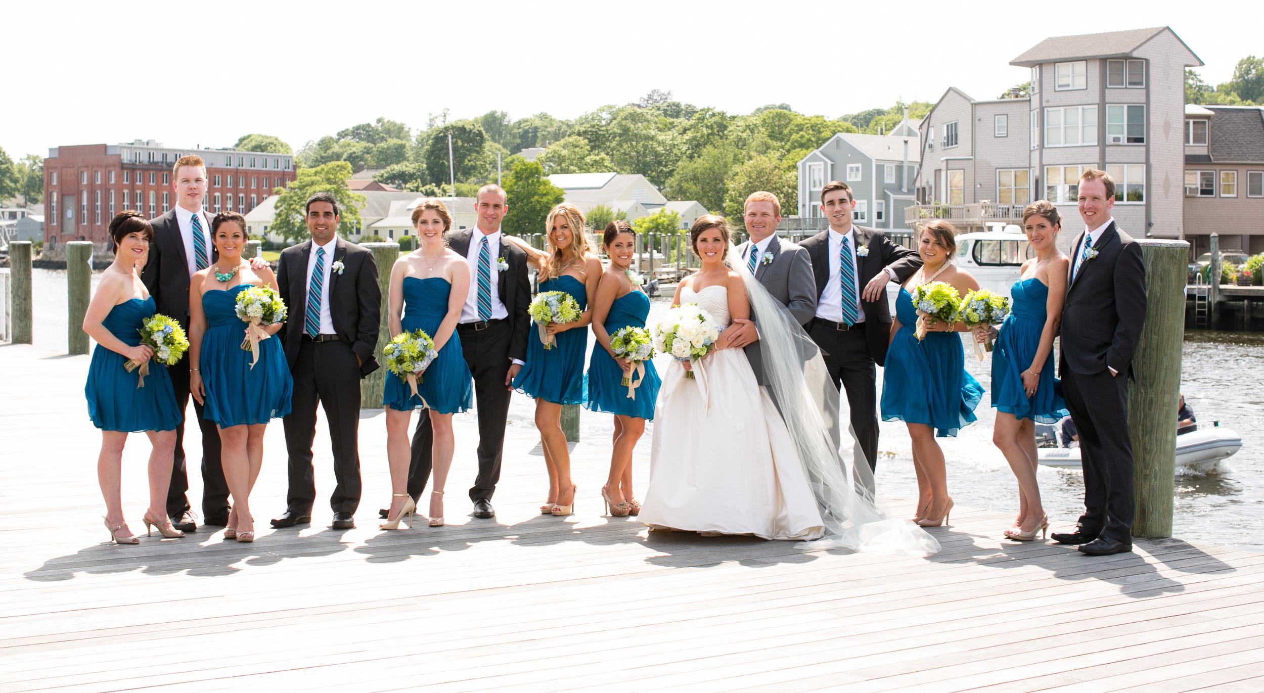Mystic Boatshed Wedding Mystic CT Seaport