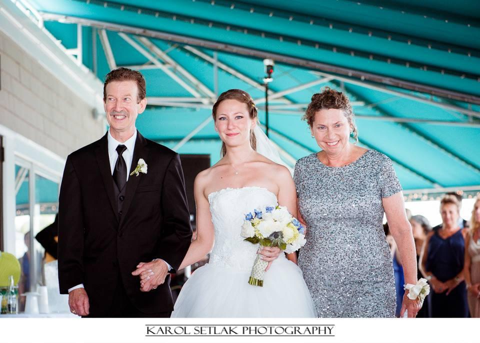 Milford Yacht Club Wedding Amy Champagne Events