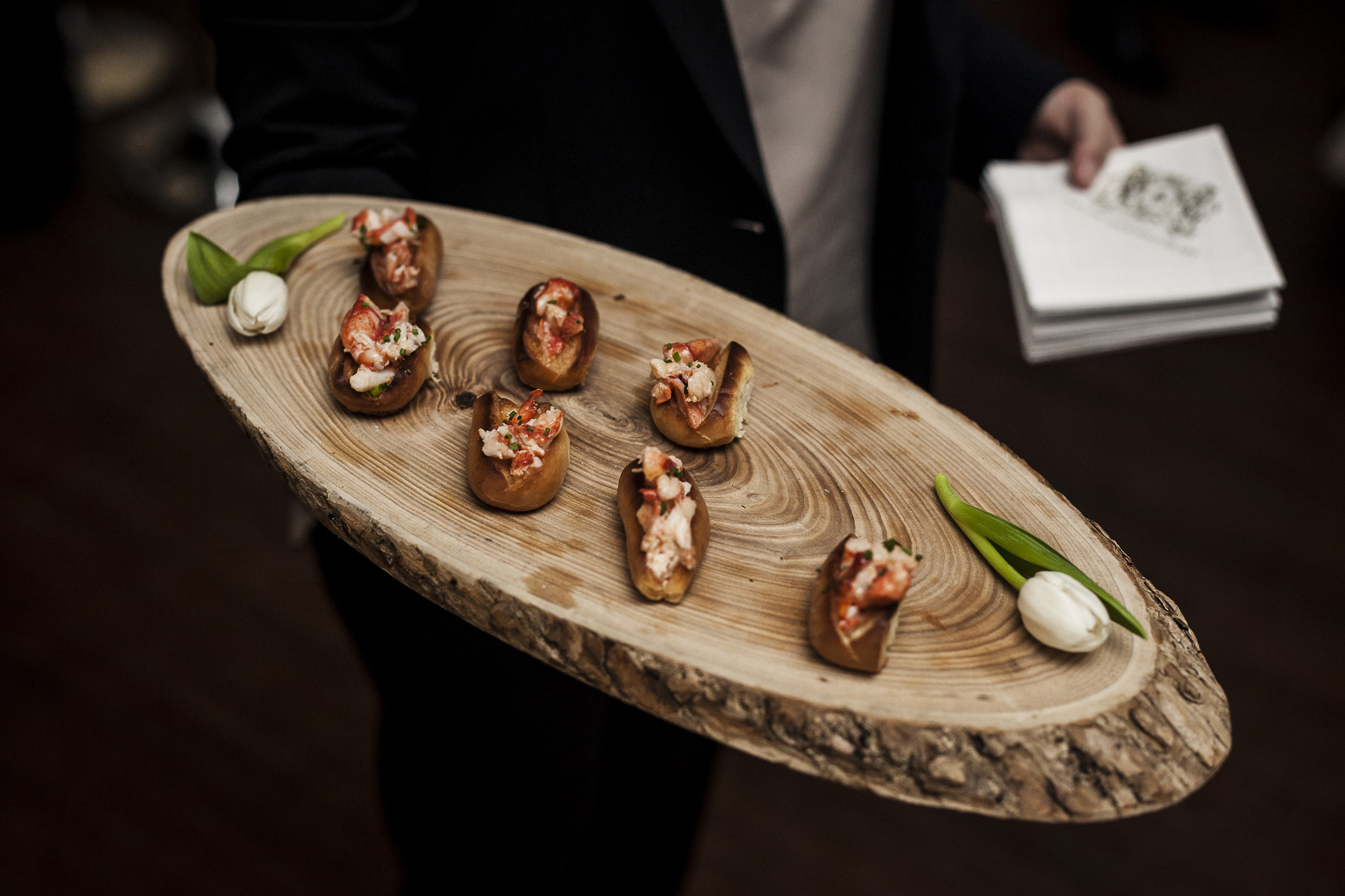 The delicious food & beverage by  On The Marc Events  was to die for, per the usual!