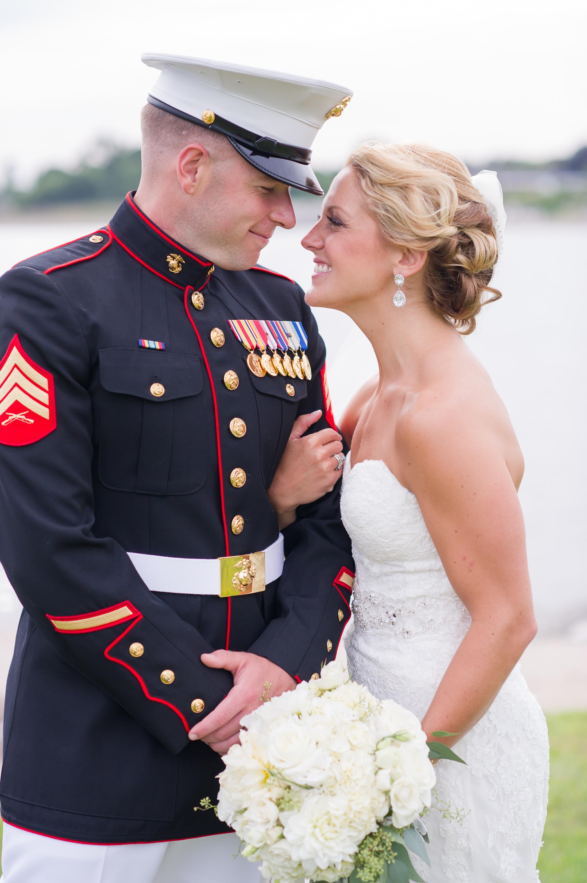 Amy Champagne Stratford military wedding