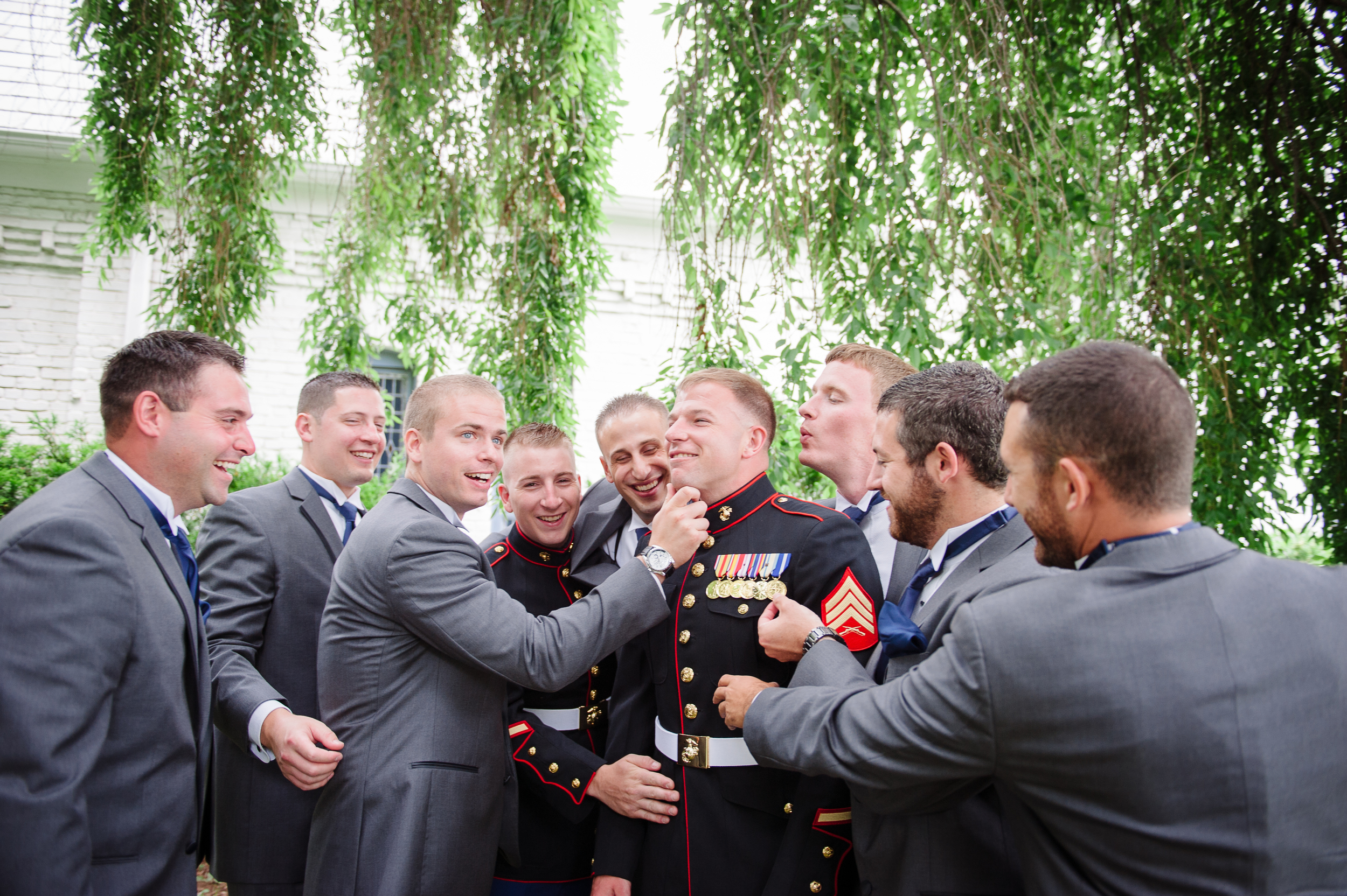 CT Wedding Planner Marine Wedding