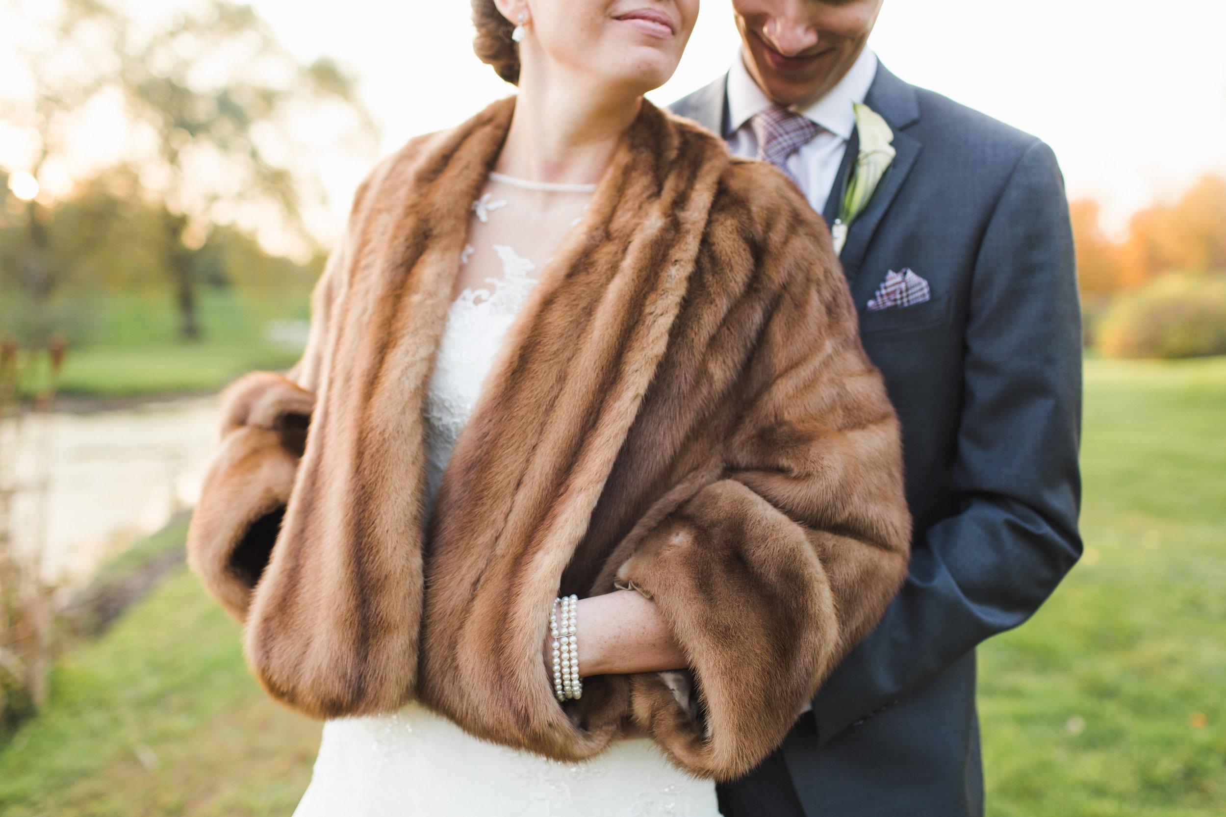 Amy Champagne autumn wedding