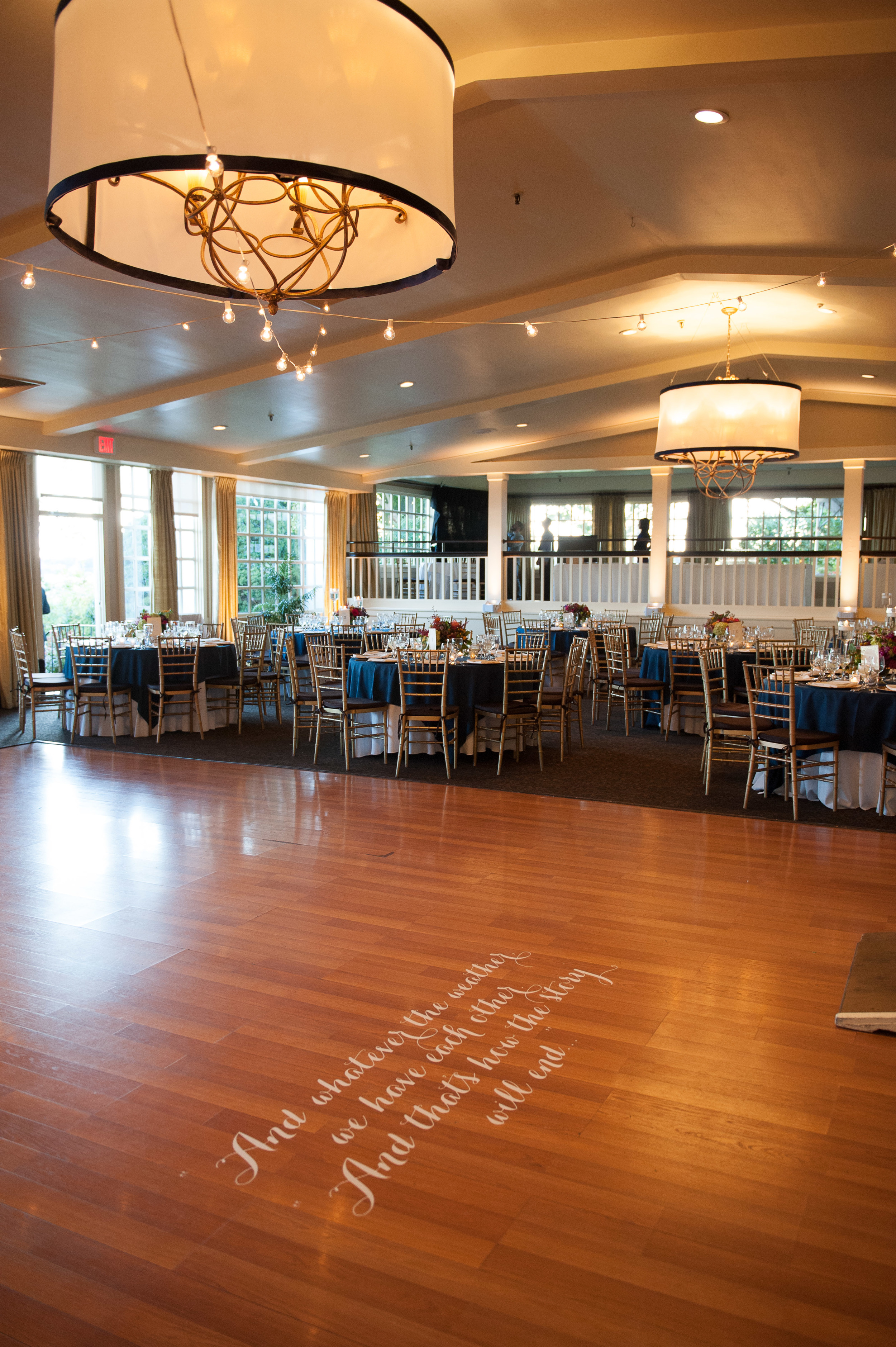 CT Wedding Inn at Longshore Amy Champagne Events Reception at Inn at Longshore Reception Dance Floor
