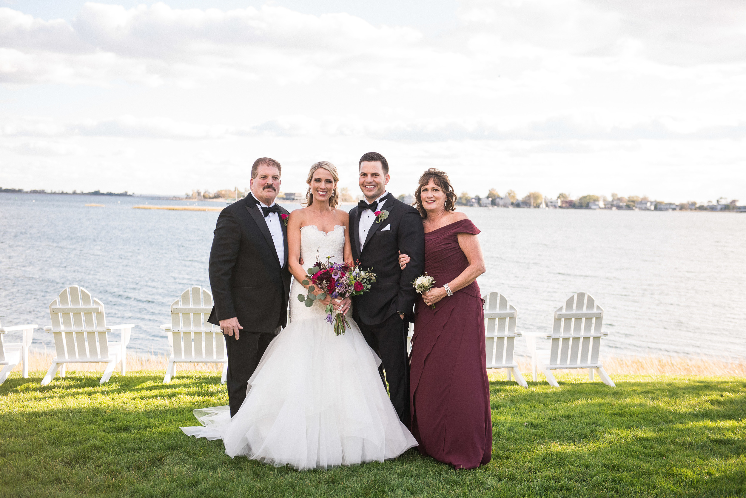 CT Wedding Amy Champagne Events Inn at Longshore Family