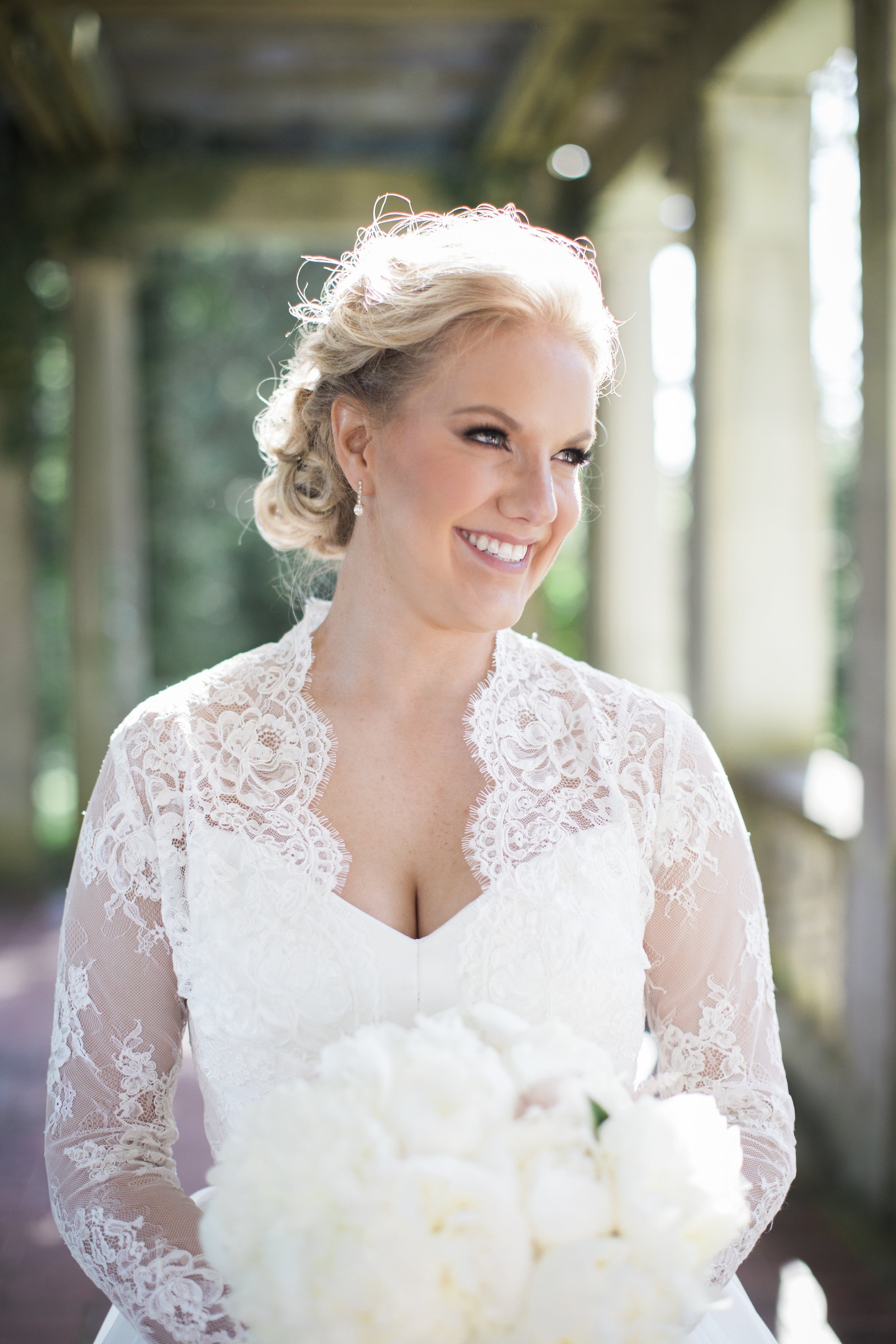 CT Wedding Eolia Mansion Amy Champagne Events Bride
