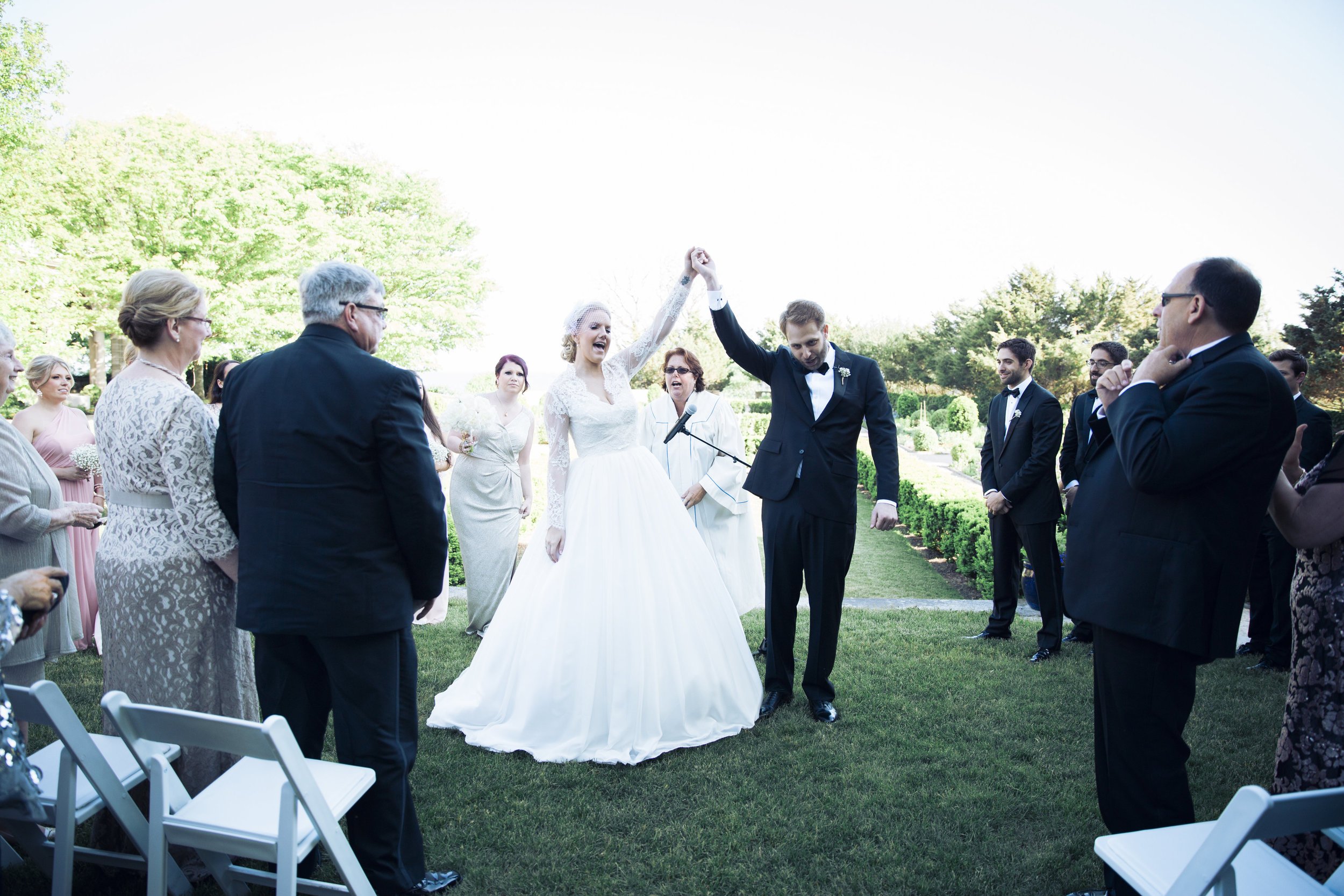 CT Wedding Eolia Mansion Amy Champagne Events Ceremony After Kiss
