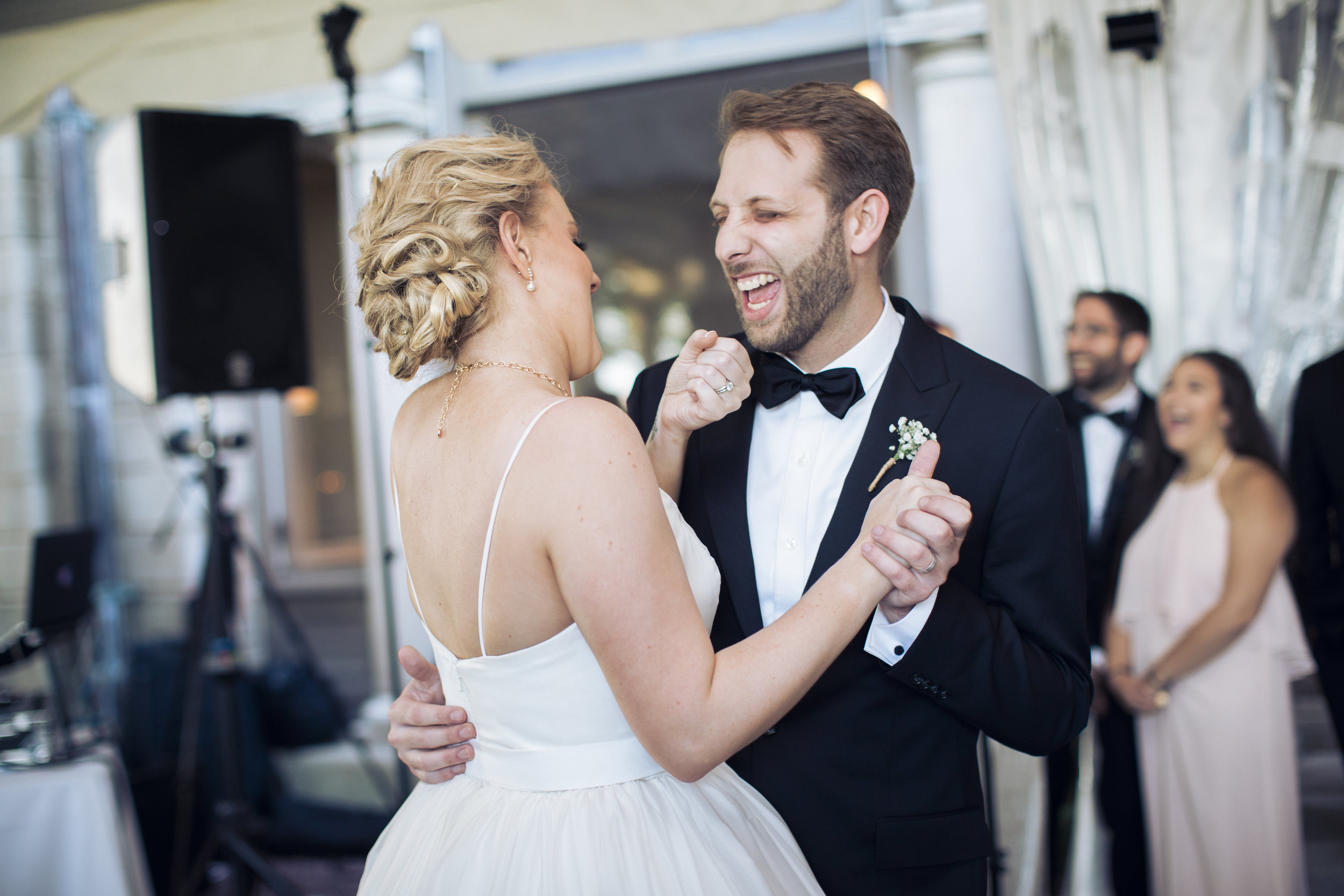 Amy Champagne Events Wedding CT First Dance Bride Groom