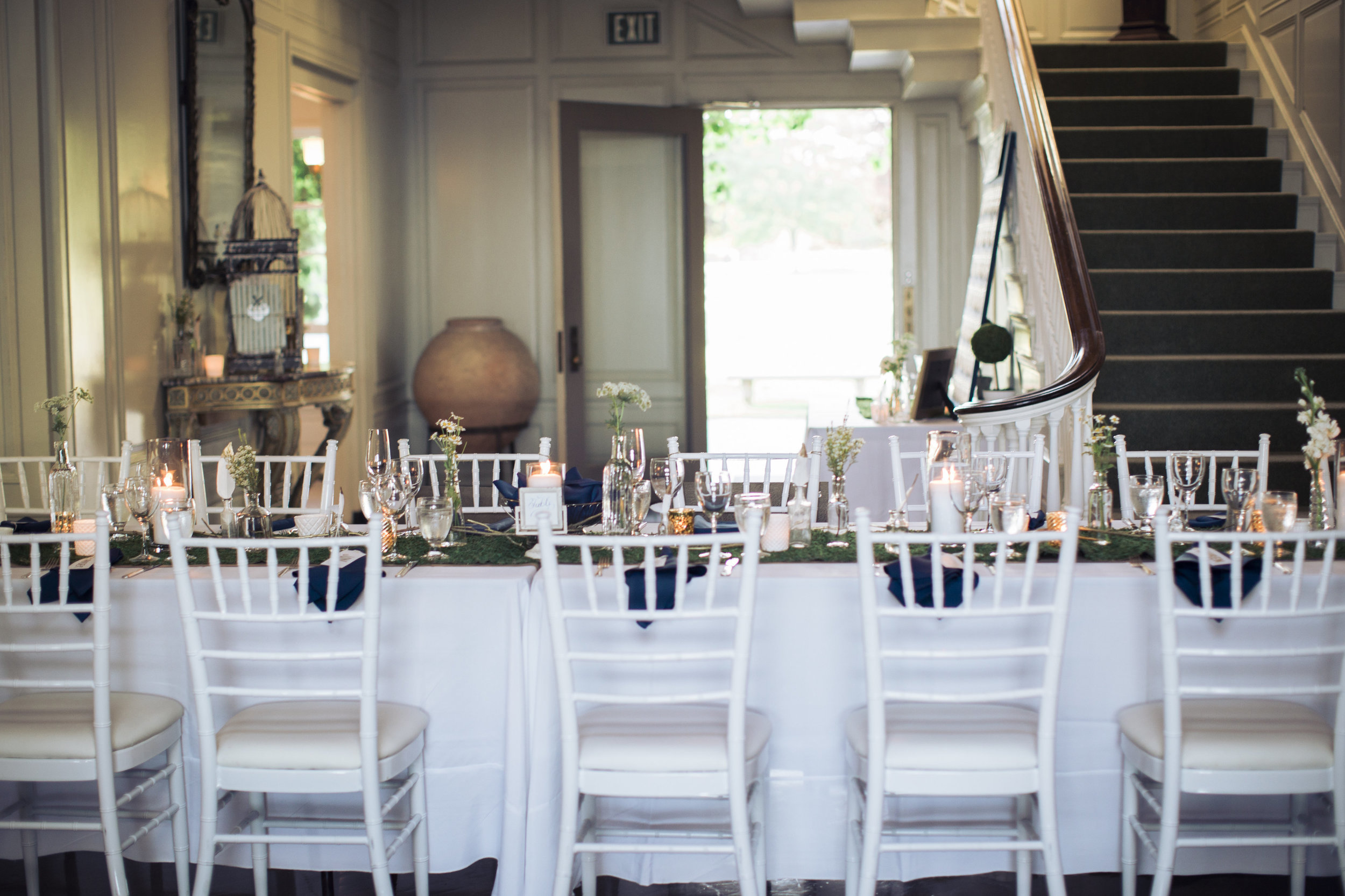 Amy Champagne Events Eolia Mansion CT Tablescape
