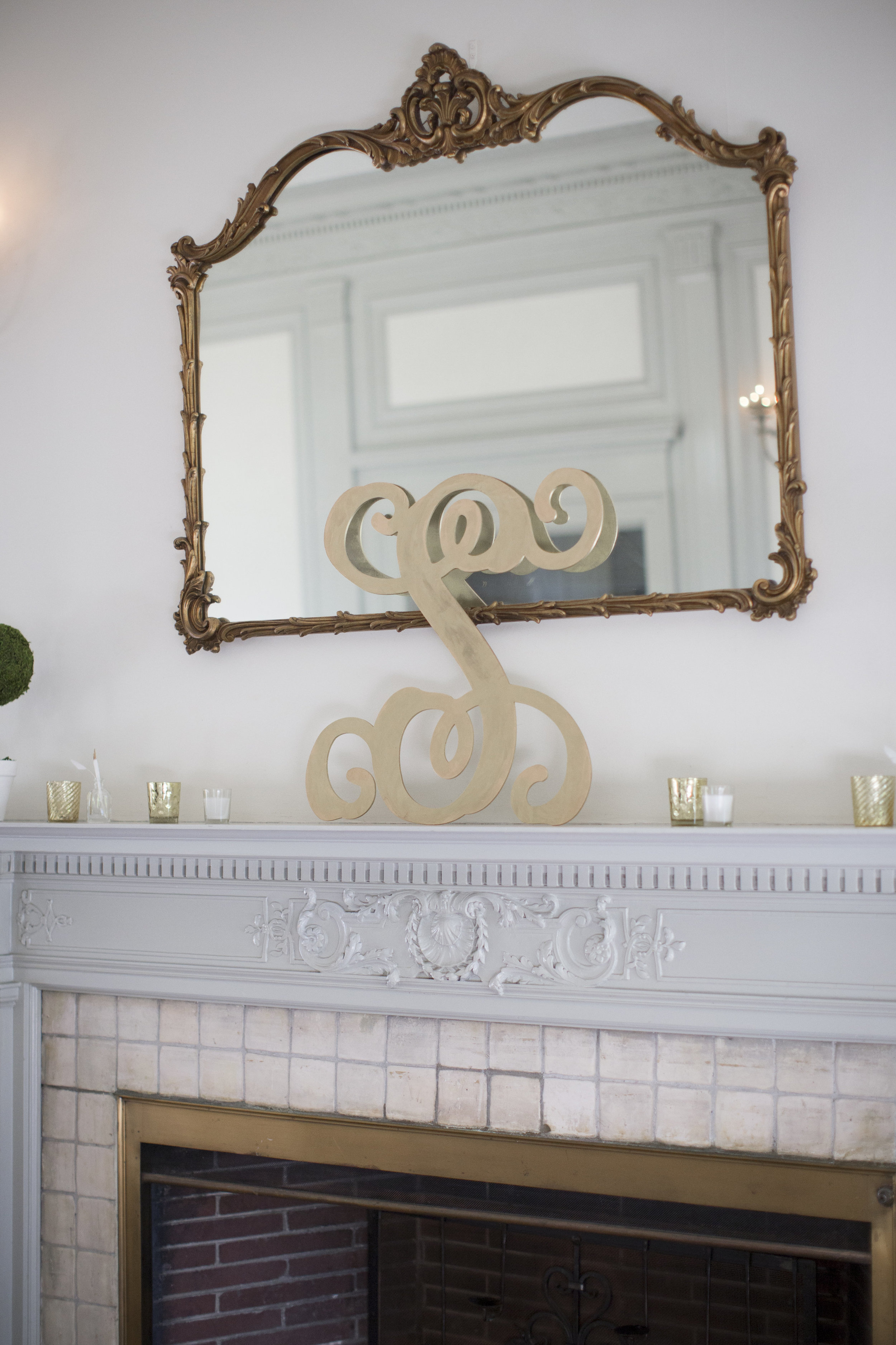 Amy Champagne Events CT Wedding Eolia Mansion DIY Wedding Decor