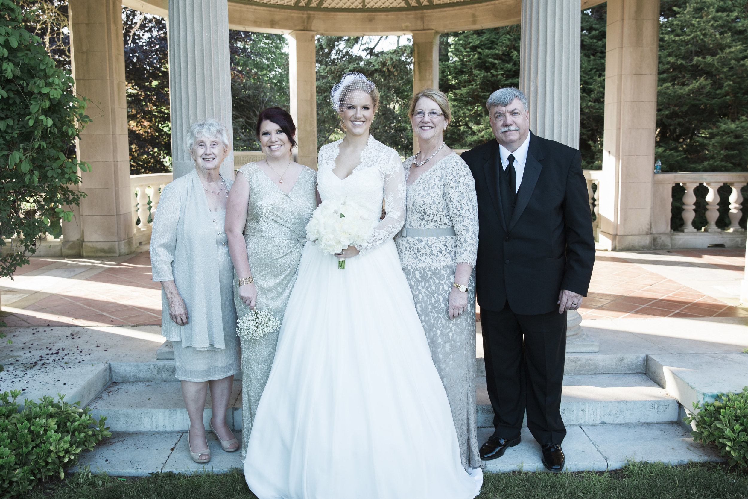 Amy Champagne Events CT Wedding Bridal Party