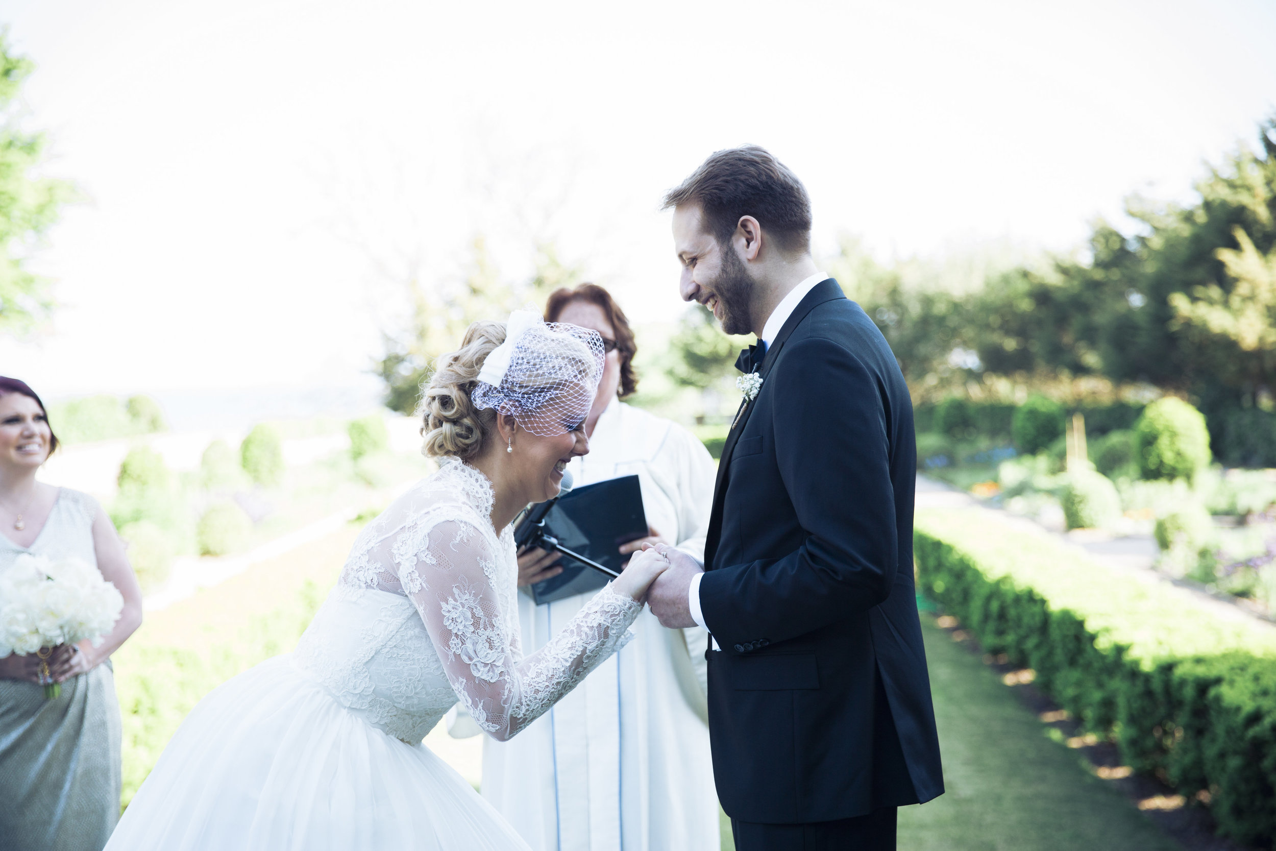 Amy Champagne Events CT Wedding Eolia Mansion Ceremony Vows