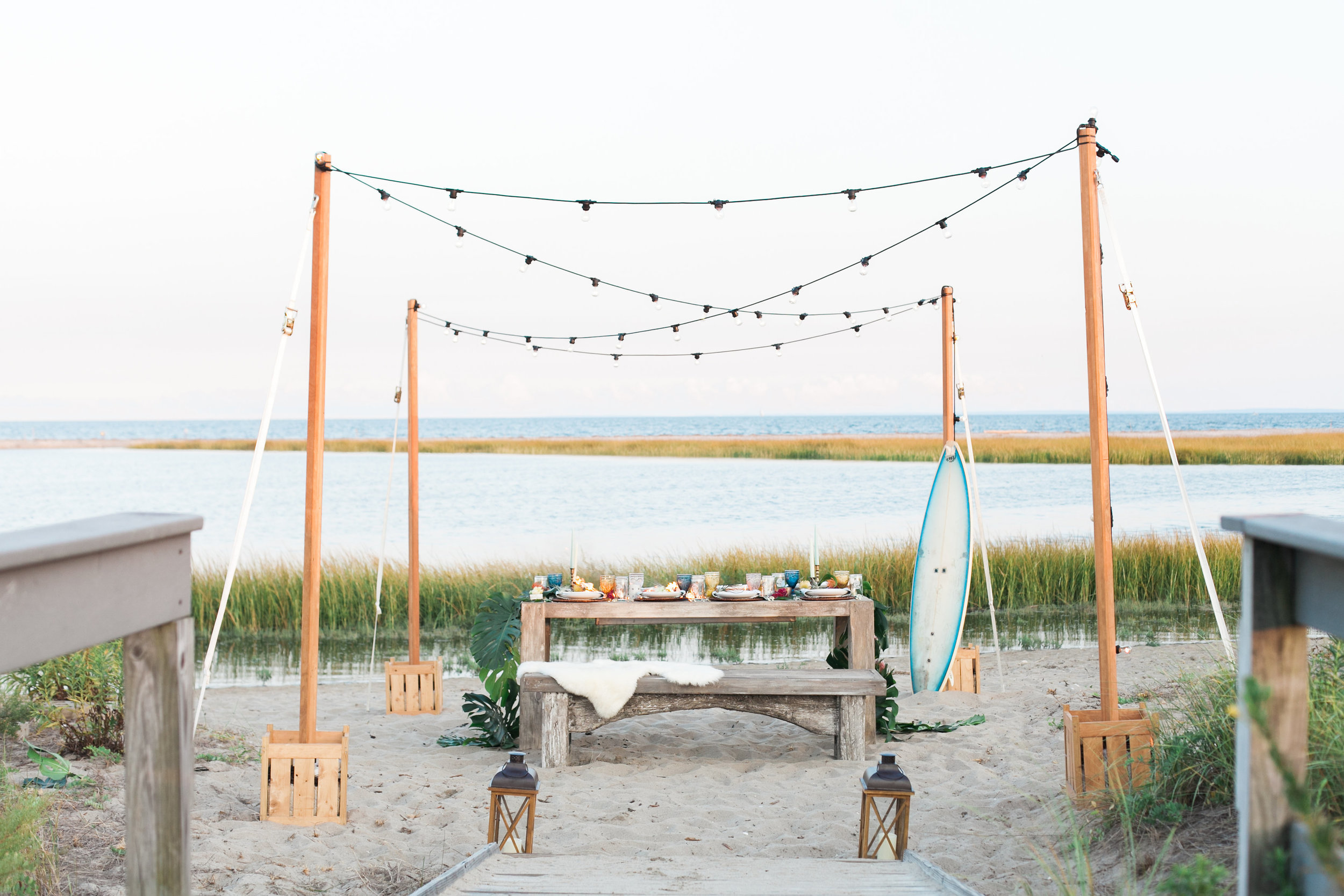 BOHO Beach Inspired Wedding Connecticut_033.jpg