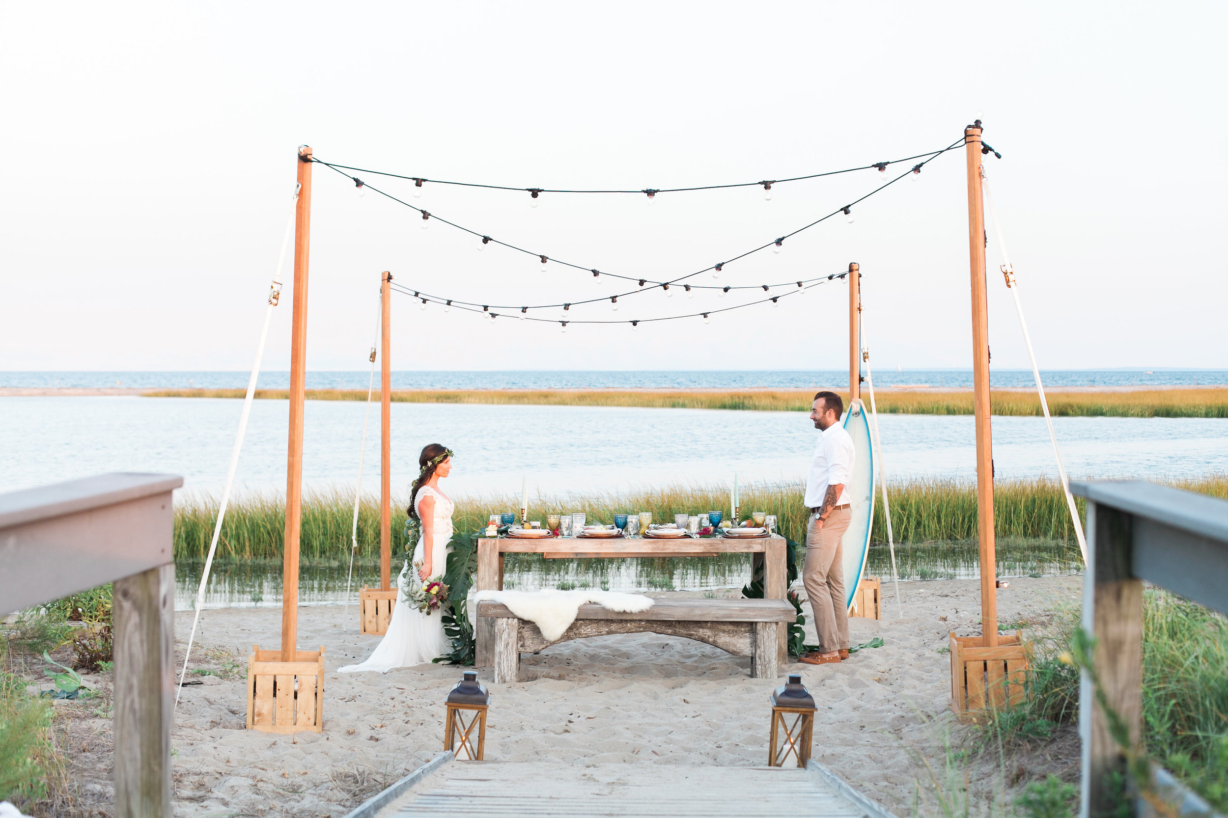 BOHO Beach Inspired Wedding Connecticut_036.jpg