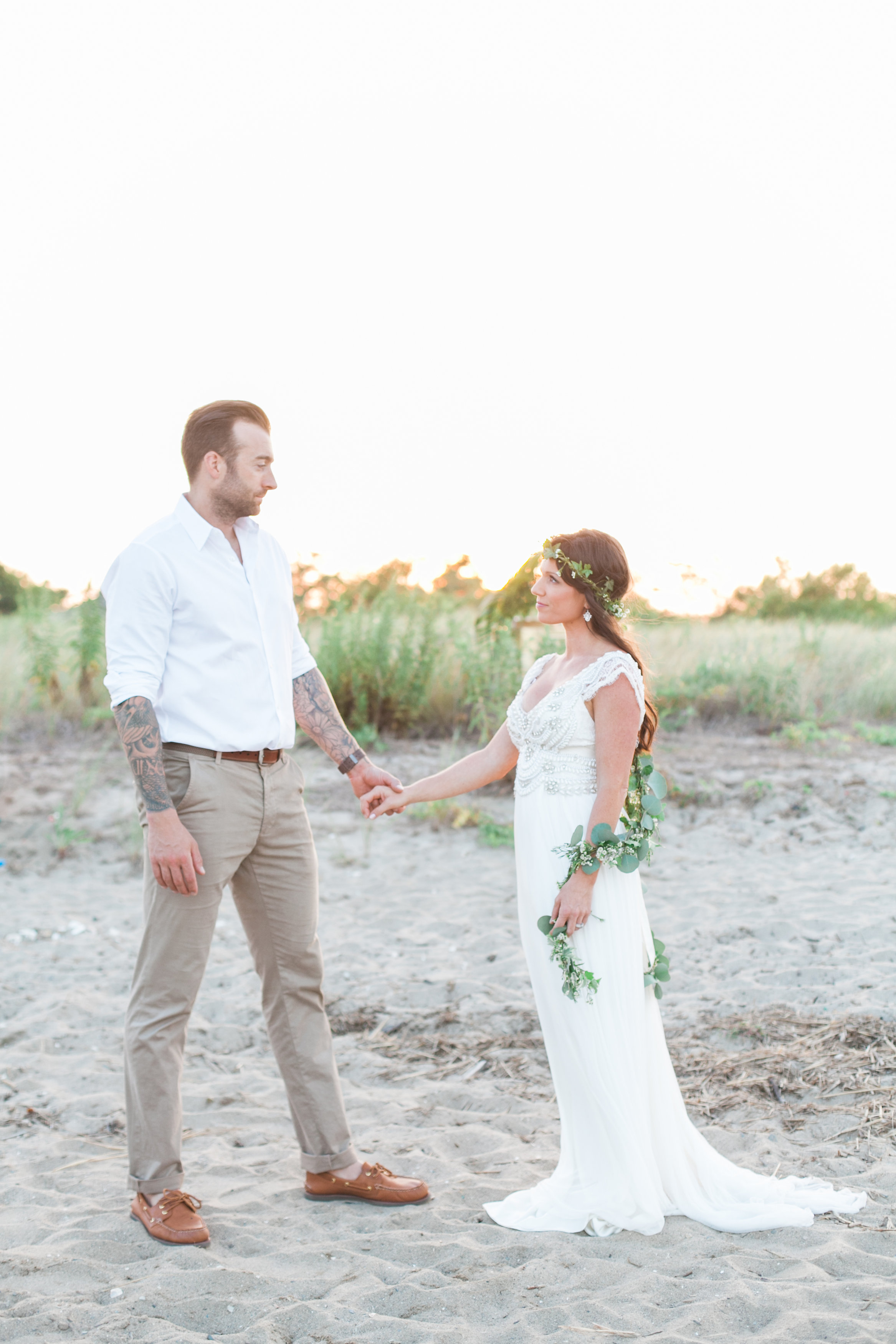 BOHO Beach Inspired Wedding Connecticut_038.jpg