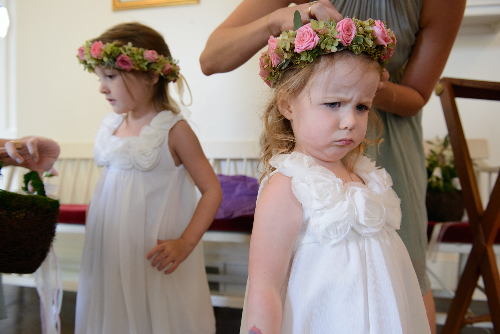 Amy Champagne Events CT Wedding Planner Flower Girls