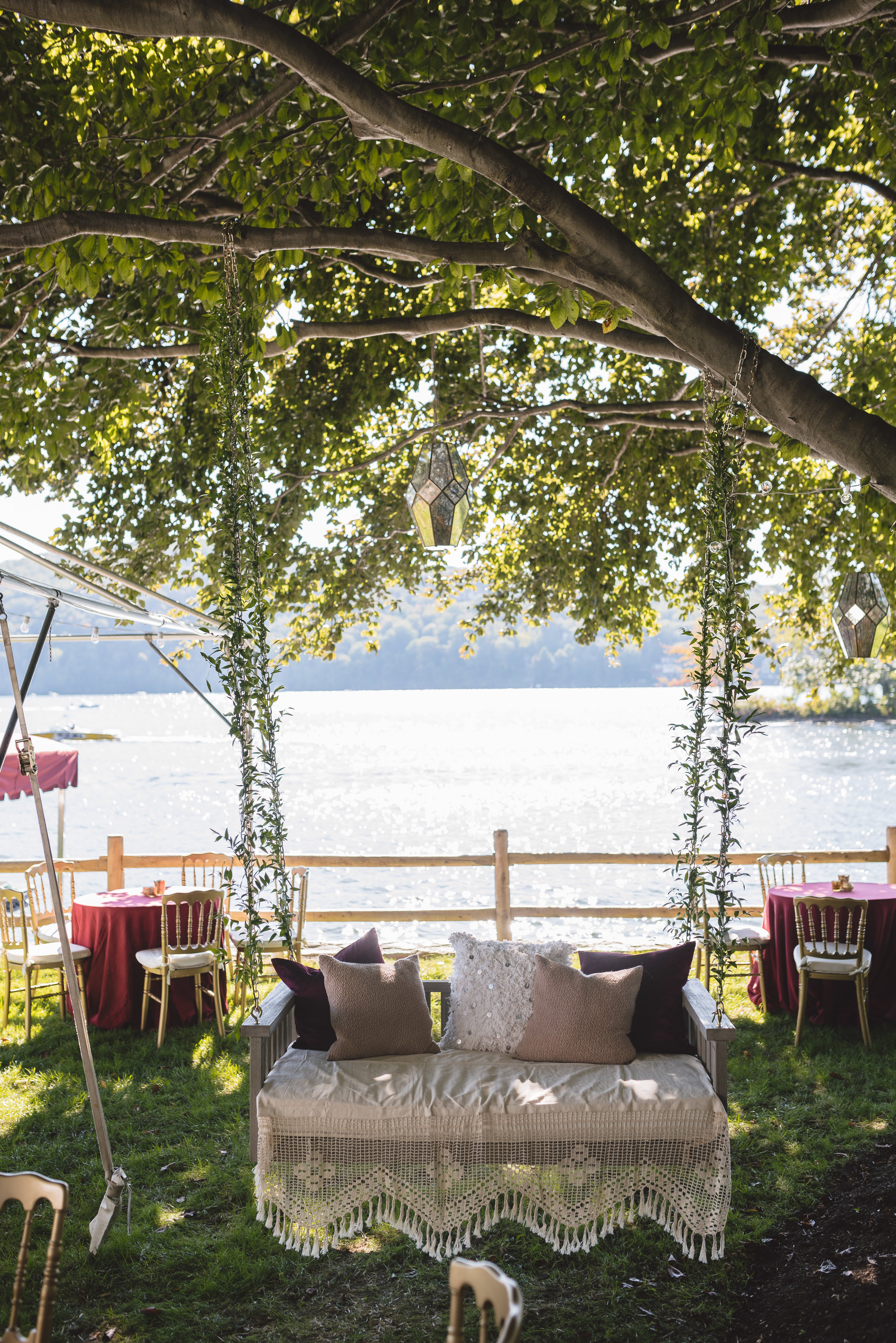 Candlewood Lake Wedding Clear Tent CT029.JPG