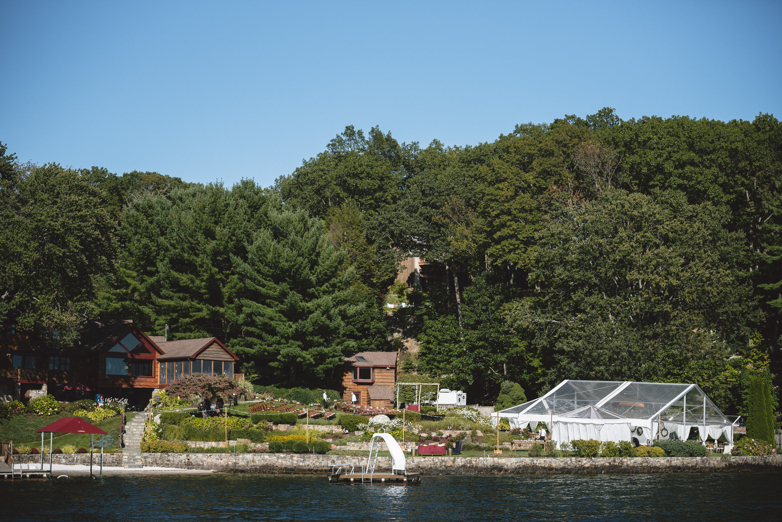 Candlewood Lake Wedding Clear Tent CT036.JPG