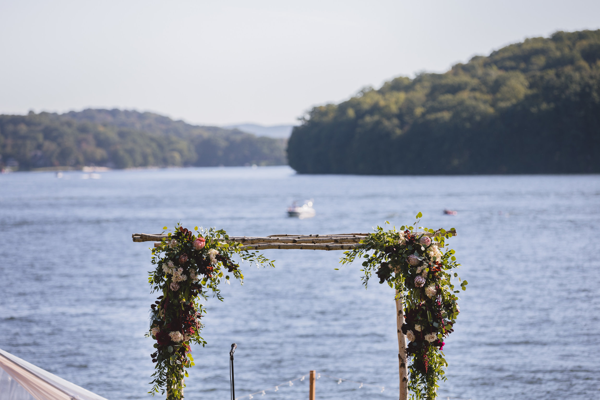 Candlewood Lake Wedding Clear Tent CT039.JPG