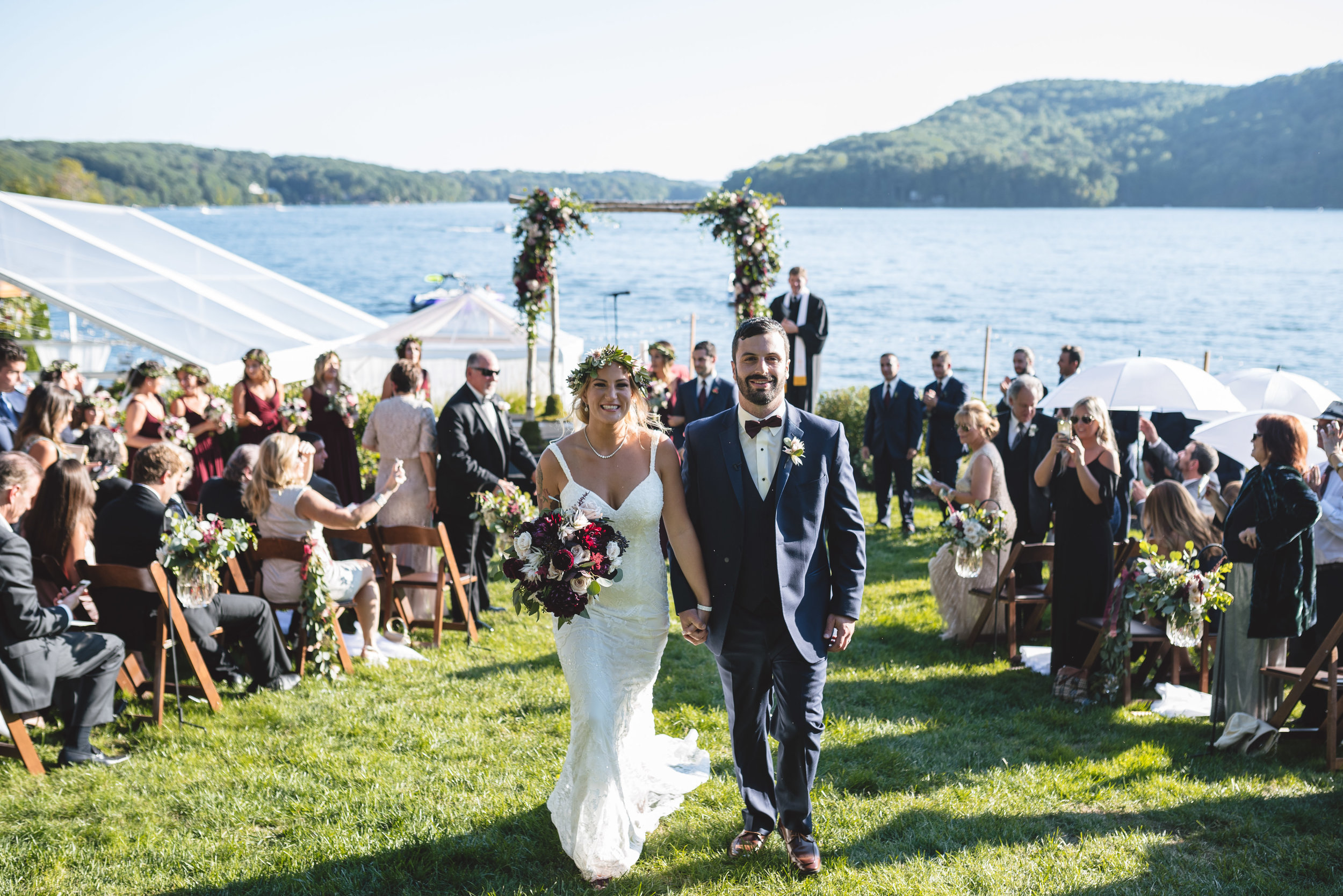 Candlewood Lake Wedding Clear Tent CT064.JPG