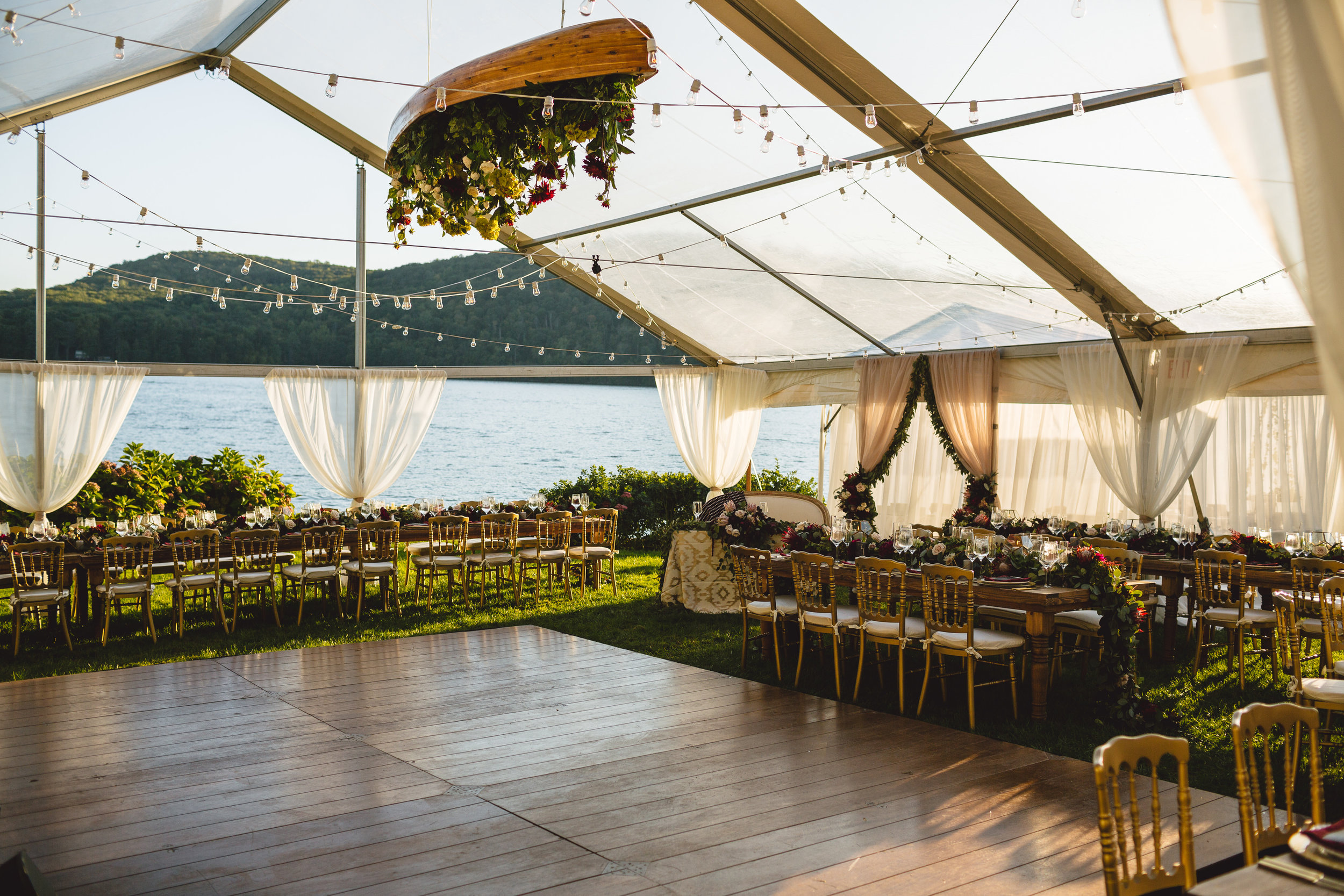 Candlewood Lake Wedding Clear Tent CT080.JPG