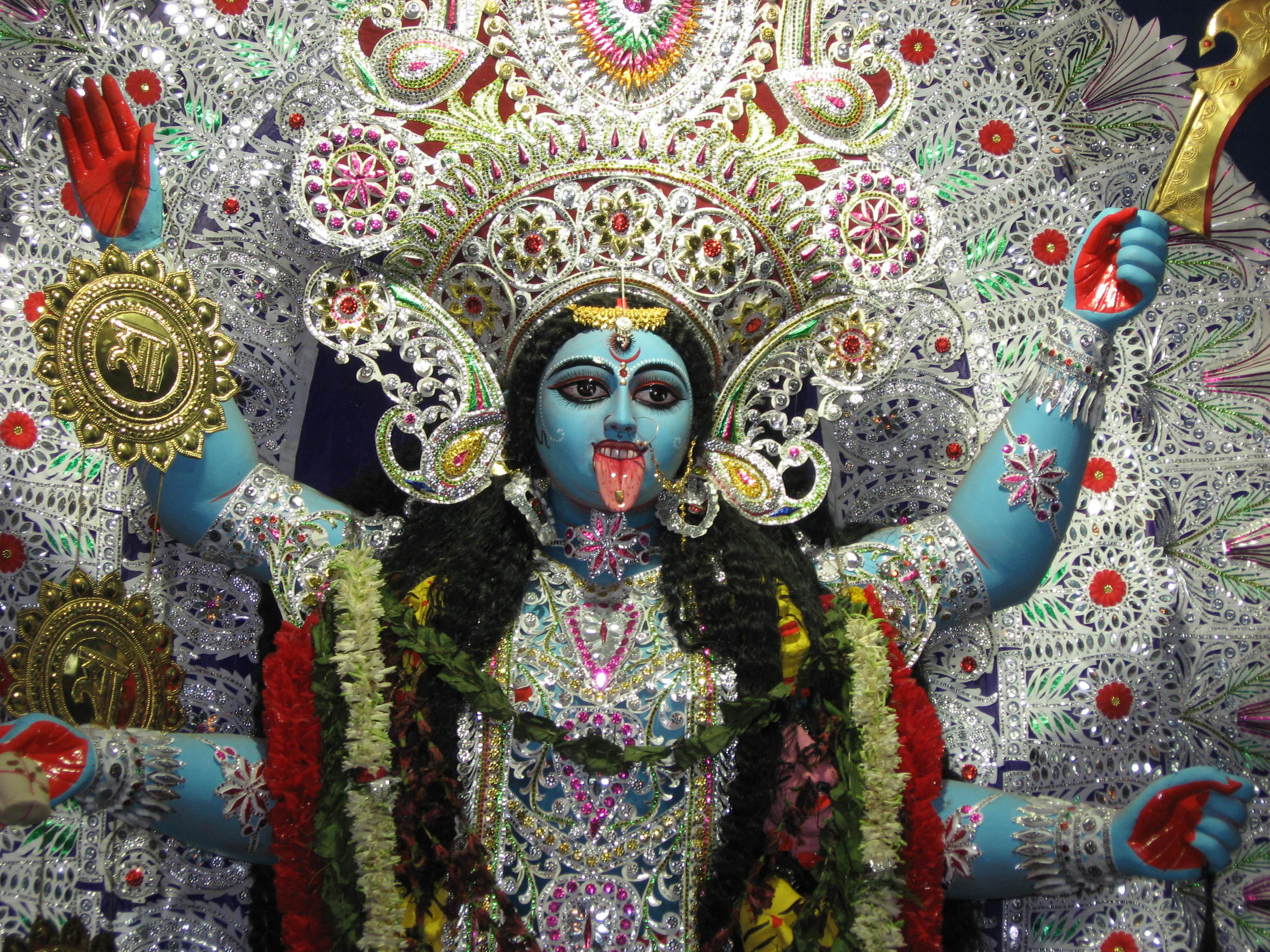 Kali the goddess -- Image by Piyal Kundu (Own work)  Wikimedia Commons