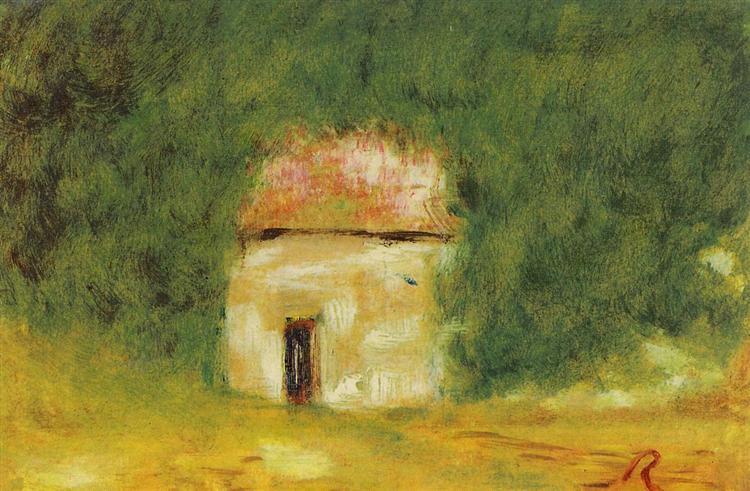 The Little House,  Pierre-Auguste renoir