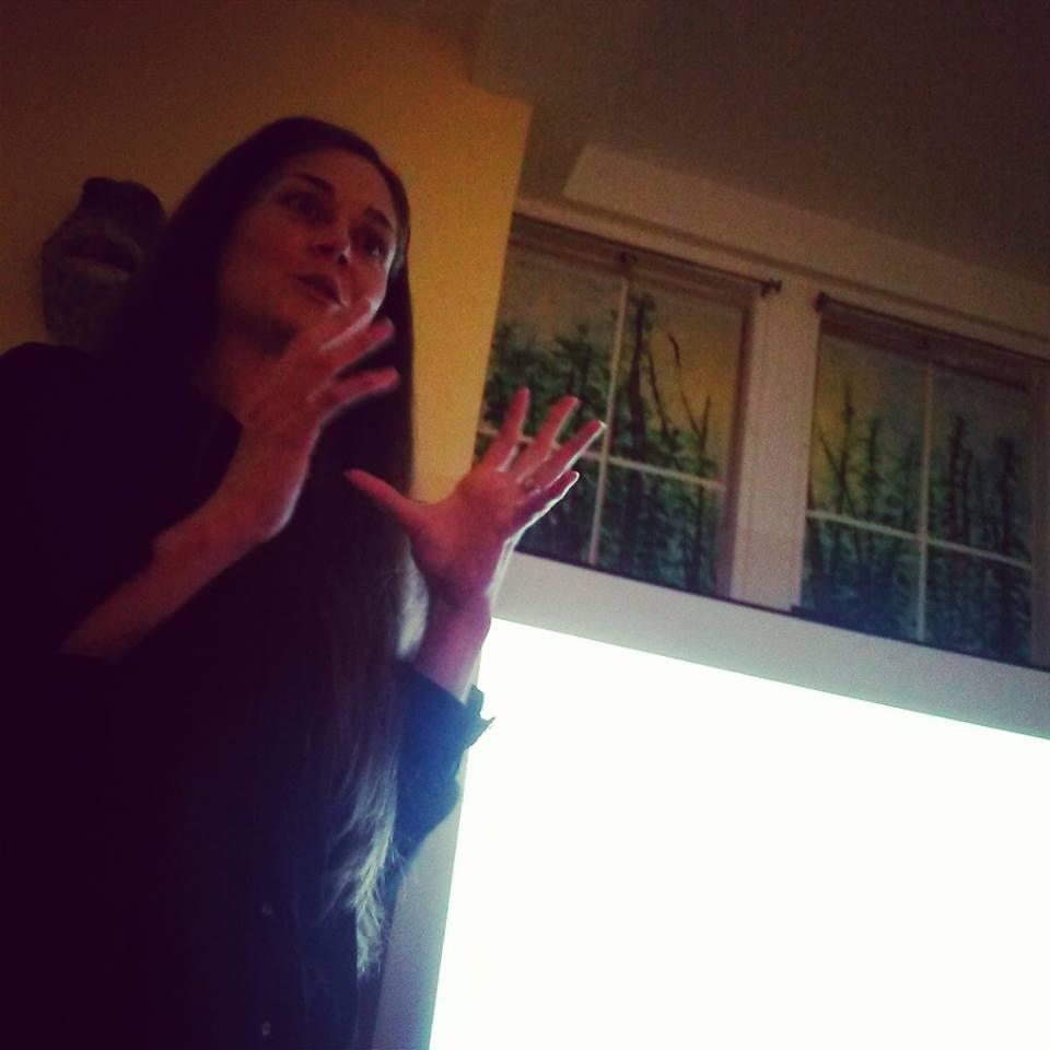 Photo by Priya Kale at NYC Antiscia talk