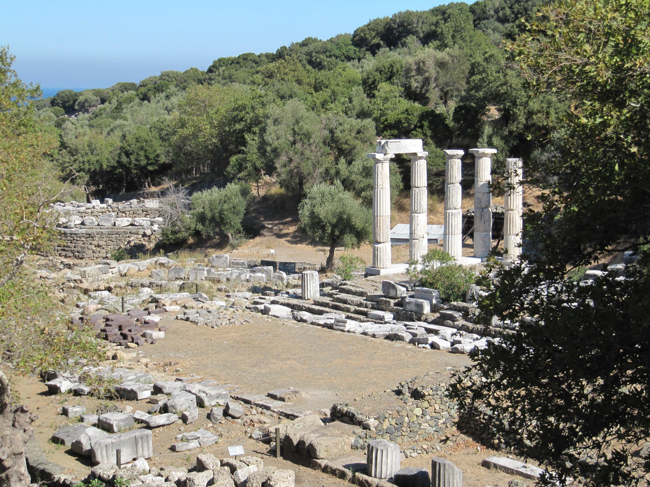 Sanctuary of the Great Gods - island of SAMOTHRAKI, GREECE