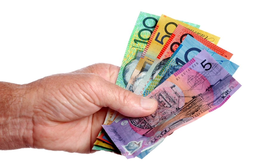 paying with Australian dollars