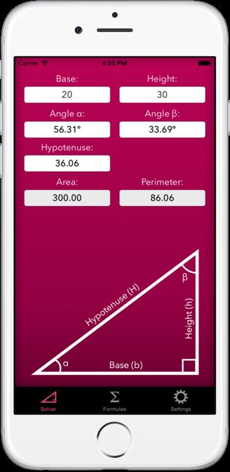 Trigonometry Help Screenshot