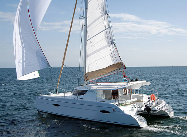 Lipari 41 Sailing