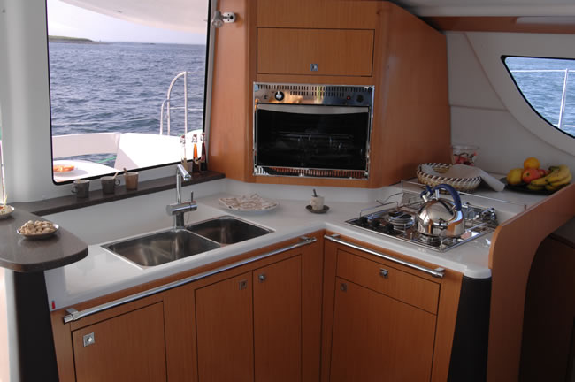 Lipari 41 Galley