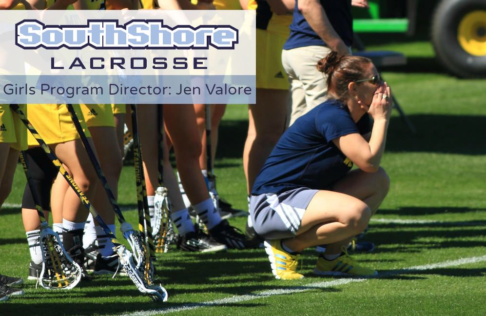 Jen Valore helped build the lacrosse program at the University of Michigan from the ground up as an assistant coach.