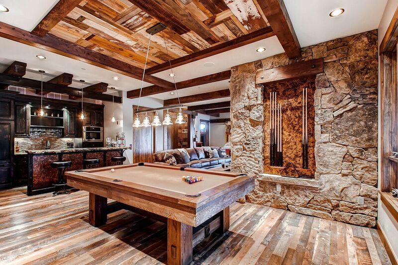 reclaimed wood residential interior design