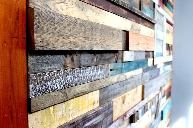 reclaimed wood interior design