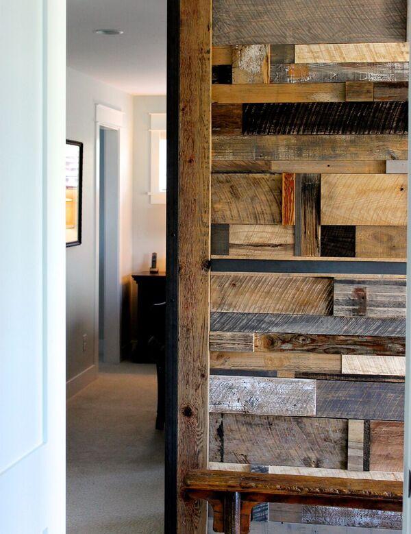 reclaimed walls home design