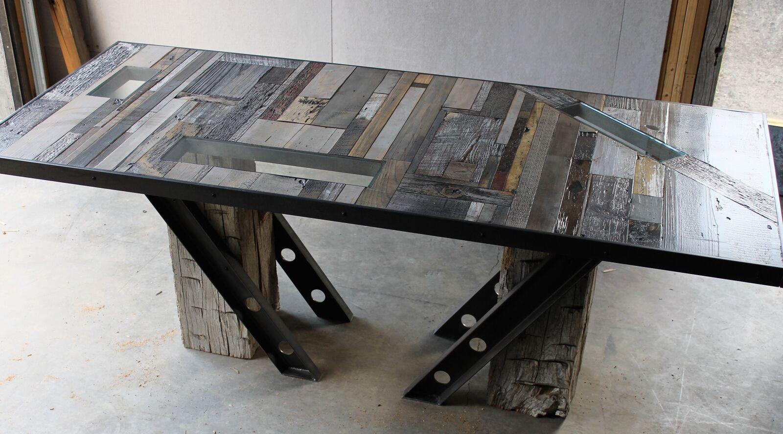 Montagne | Industrial Reclaimed Wood Table | Twenty1Five