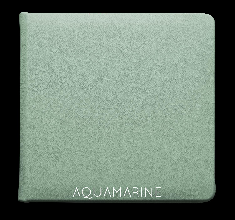 Aquamarine - Leather