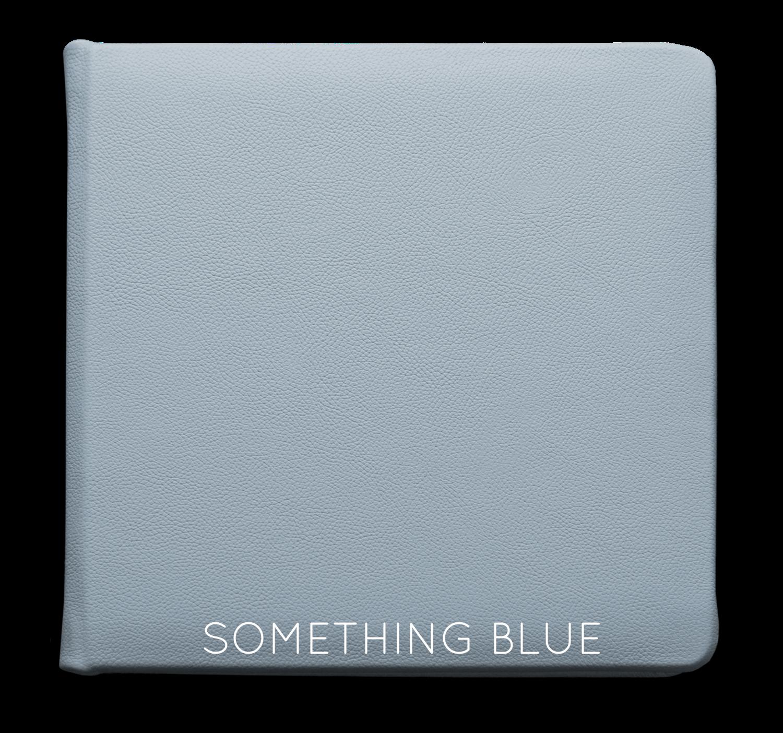 Something Blue - Leather