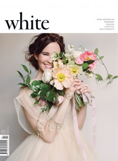 Featured in ISSUE 25 of WHITE Magazine