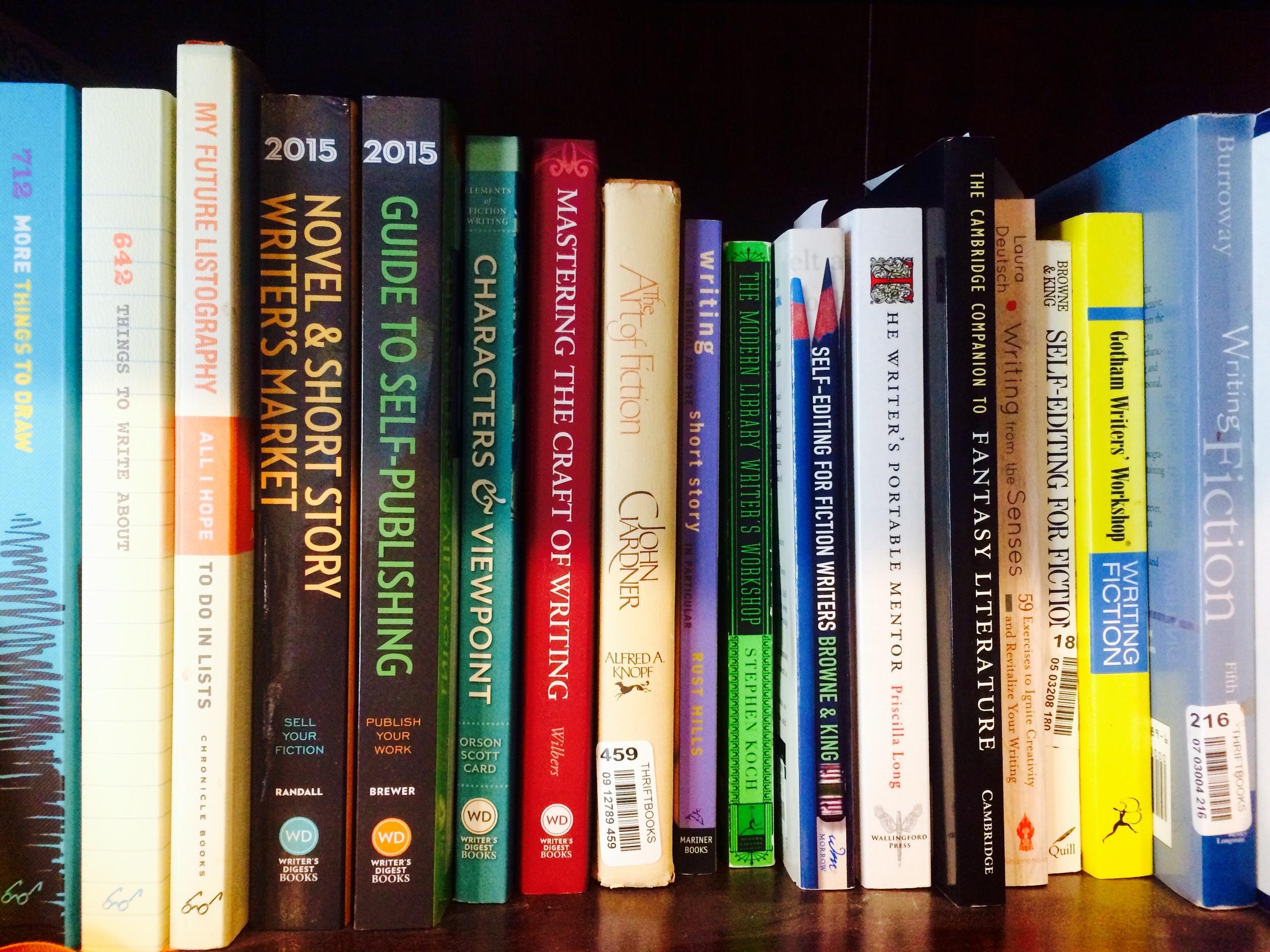 Bookshelf by Miranda Brumbaugh