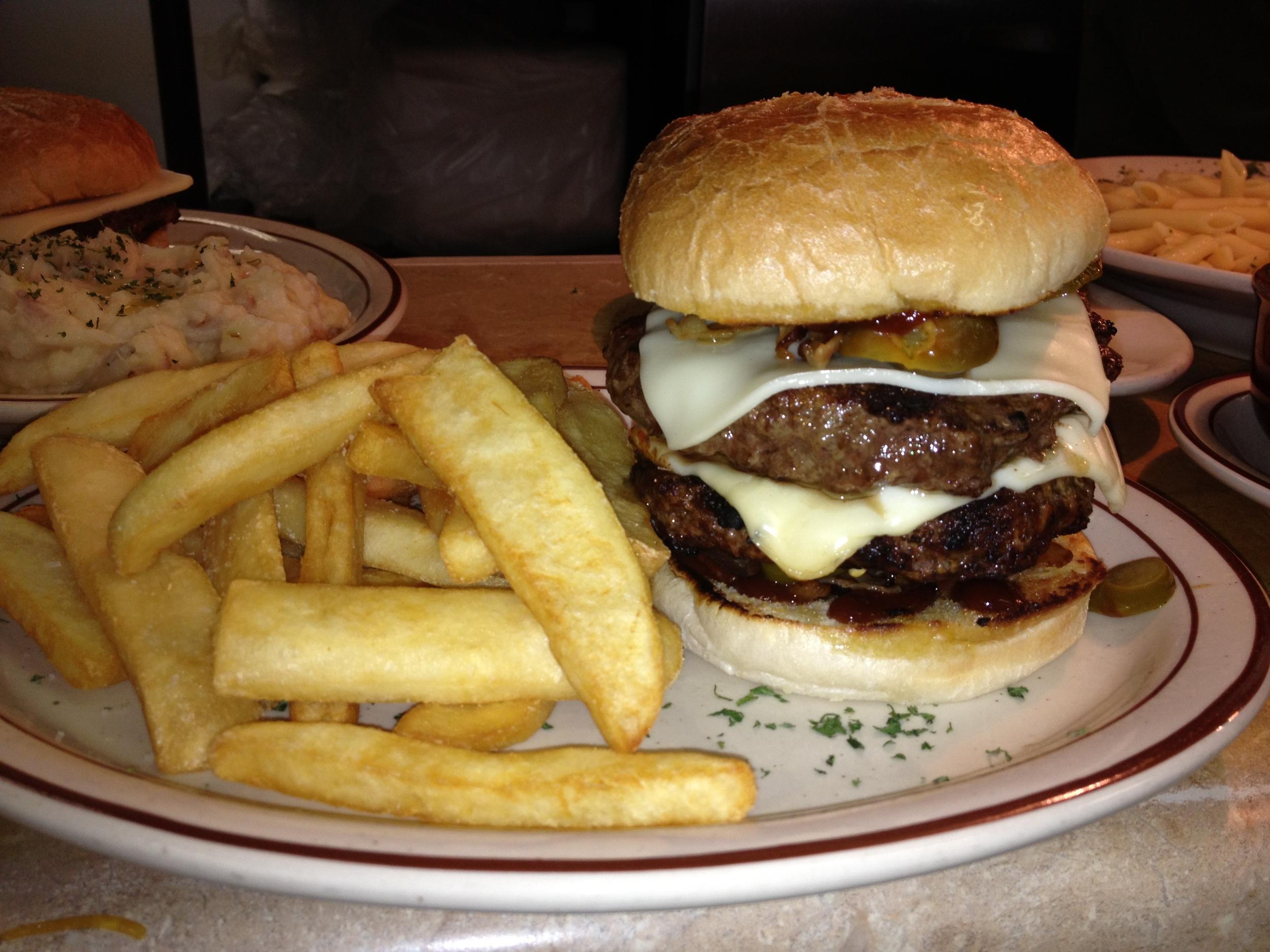 Double Decker 1 Pound Burger