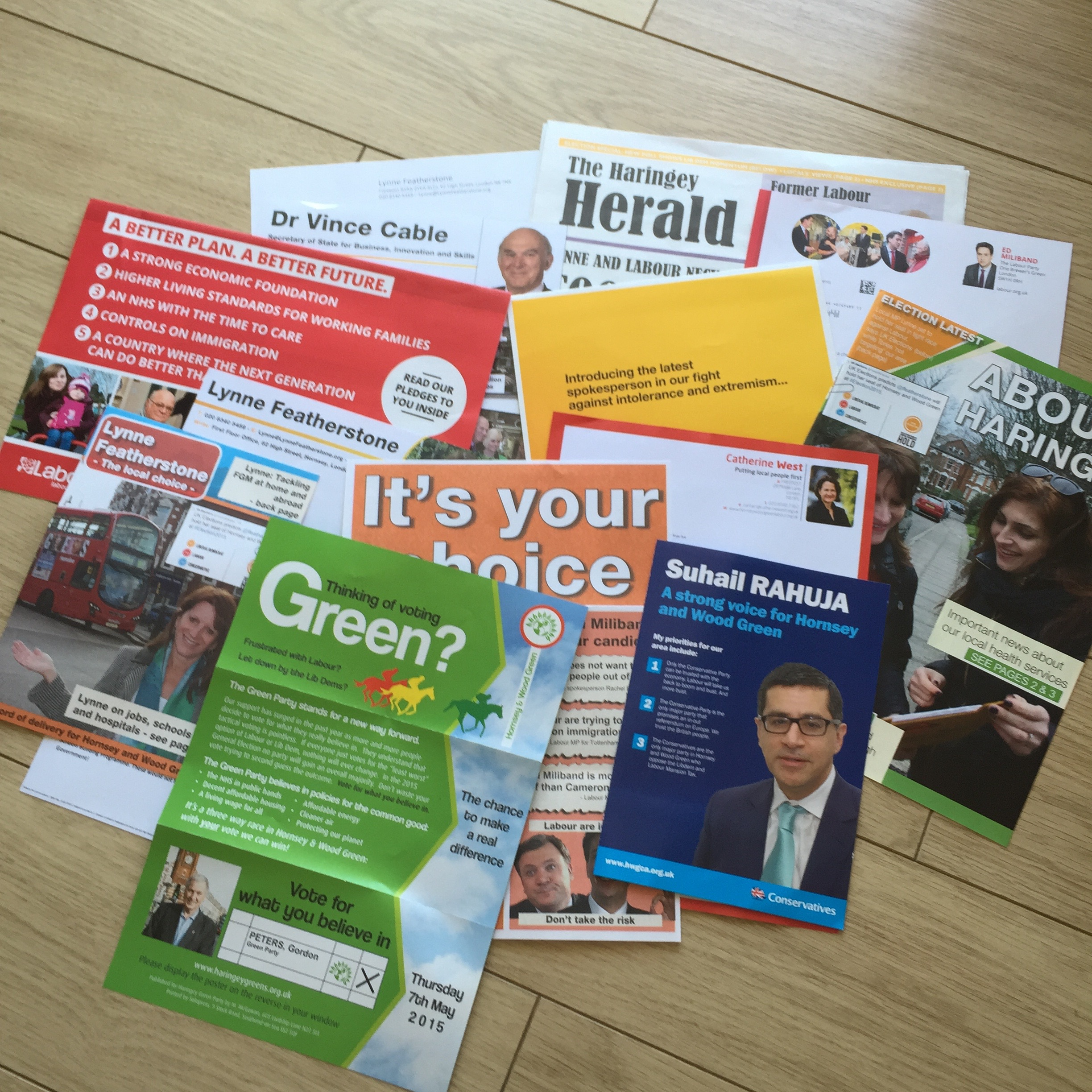 Never have so many leaflets been printed for so little purpose...