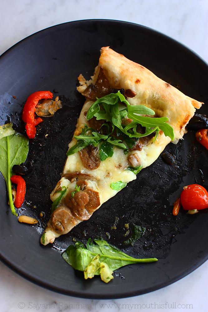 My newfound love, Tartufo Pizza.