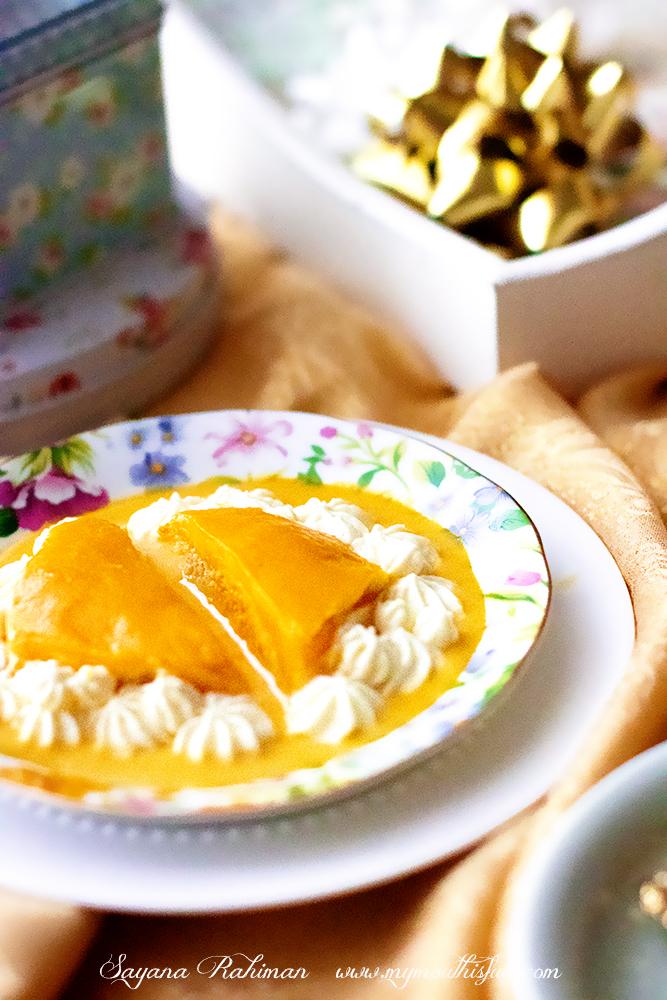 Mango Tres Leche