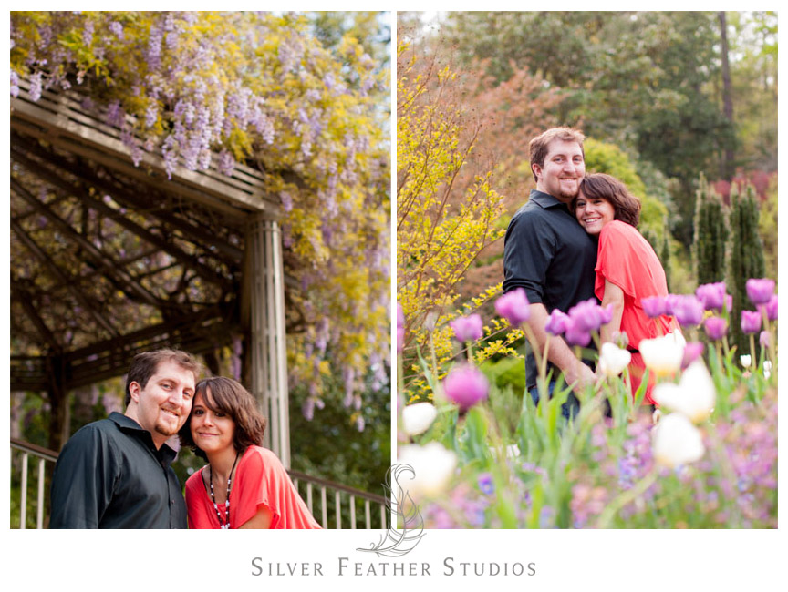 Sarah P. Duke Gardens Engagement session by North Carolina Engagement Photography & Videography