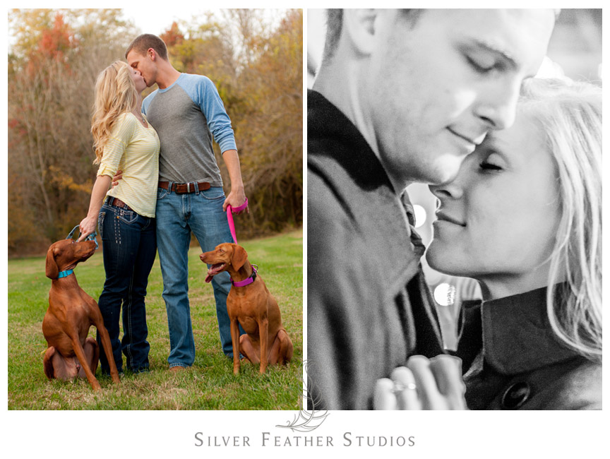Fearrington Village engagement session by North Carolina Engagement Photography & Videography